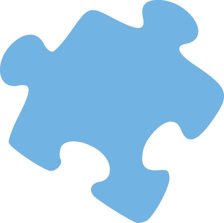 piece: Puzzle piece Illustration