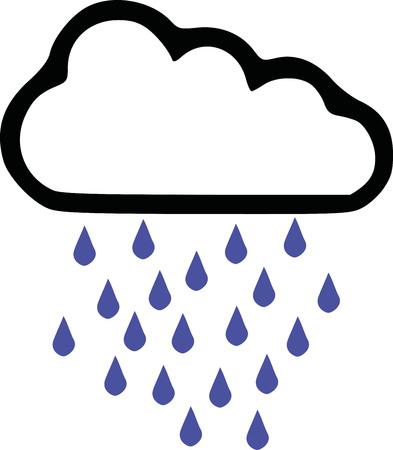 predicting: Rainy - weather forecast icon