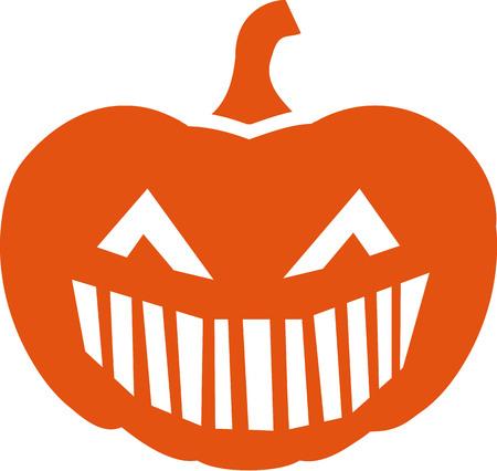 big mouth: Halloween pumpkin face big mouth