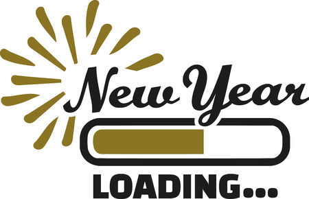 the turn of the year: New year Loading