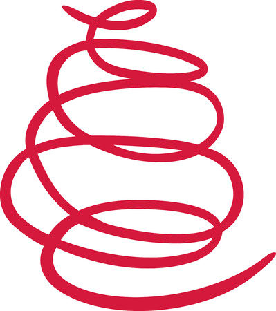 garabatos: círculo dibujado a mano boceto