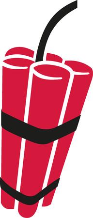 dinamita: paquete de dinamita