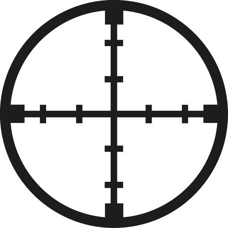 reticle: Crosshair reticle sniper