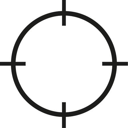 reticle: Reticle icon