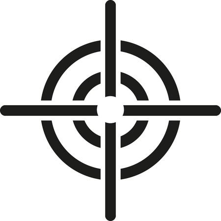 Crosshair target icon