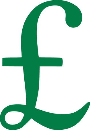sterling: Pound sterling symbol