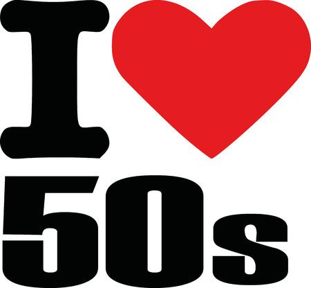 fifties: I love fifties