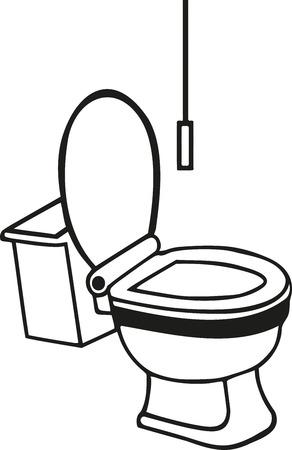 toilet: Real toilet