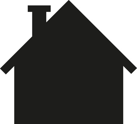 residential homes: House symbol