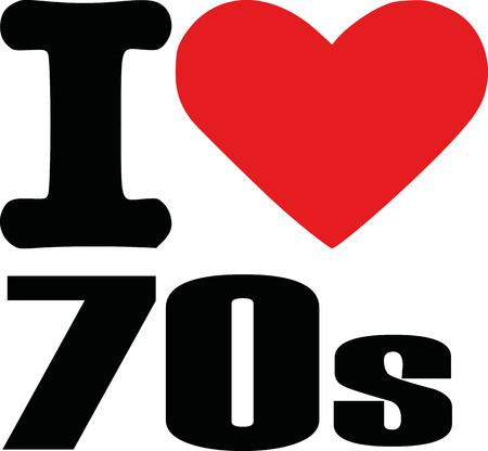 notable: I love seventies