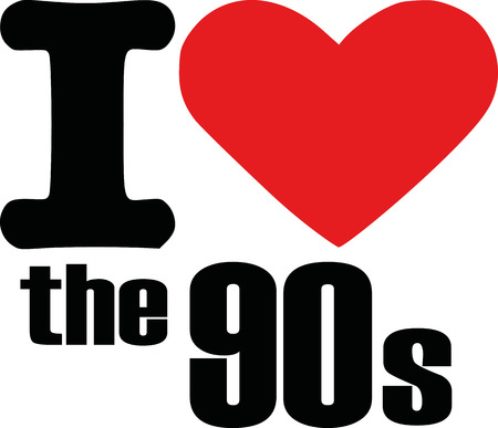 90th: I love the 90s