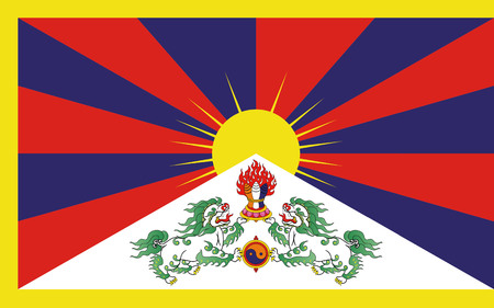 tibet: Tibet flag