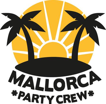 Mallorca équipage du parti