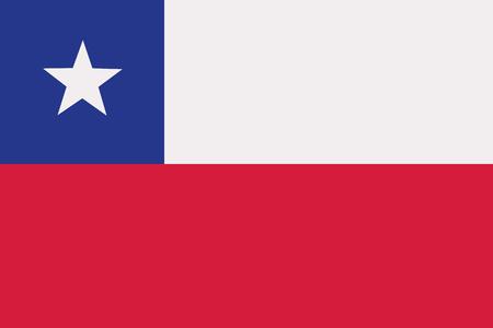 bandera de chile: Bandera de Chile  Vectores