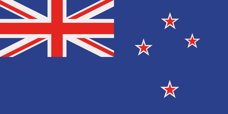 bandera de nueva zelanda: bandera de Nueva Zelanda Vectores
