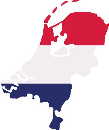netherlands: Netherlands map