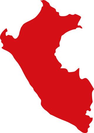 mapa del peru: Perú mapa