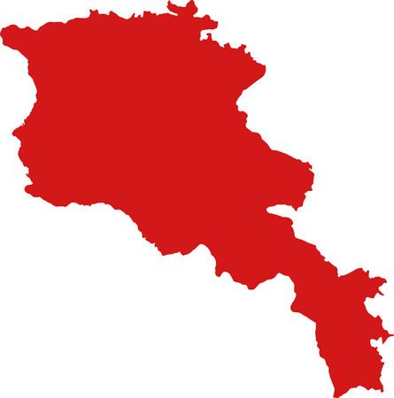 armenia: Armenia map