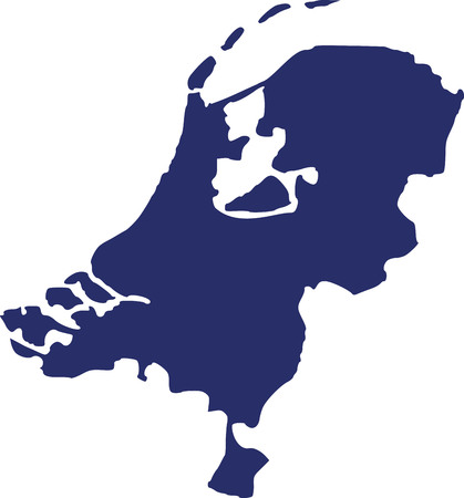 map of netherlands: Netherlands map