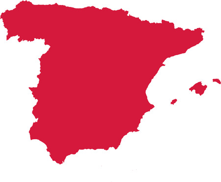 madrid: Spain map