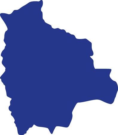 bolivia: Bolivia map