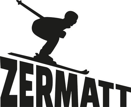 swiss alps: Zermatt Skiing