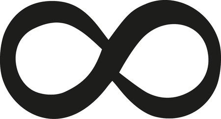 signo de infinito: signo hermosa Infinity