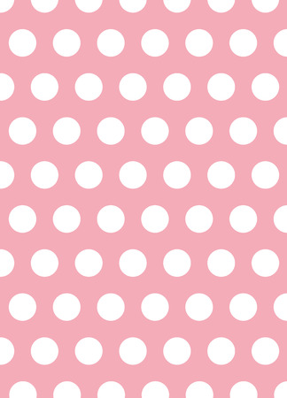 backdrop: Pink dotted wallpaper backdrop