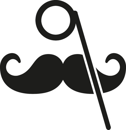 monocle: Mustache and monocle