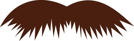 schnauzer: Schnauzer mustache icon