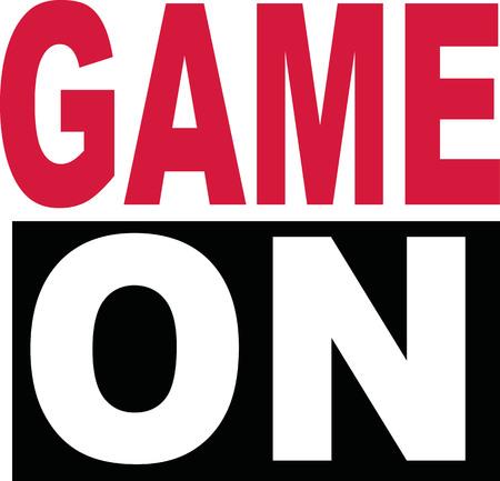 slogan: Game on slogan