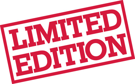 limited: Limited edition stamp Illustration
