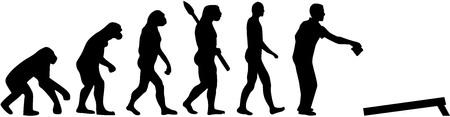 Cornhole evolution Фото со стока - 67600930