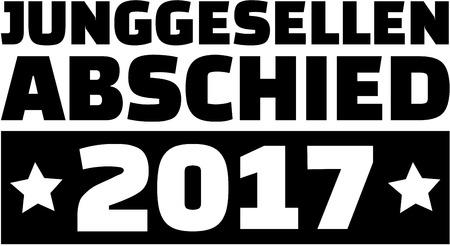 bachelor: German word for Bachelor Party 2017