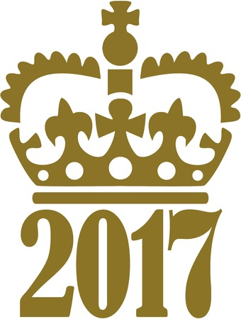 royal person: 2017 with royal crown
