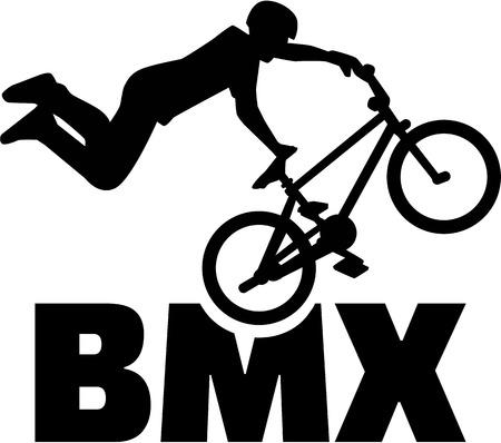 BMX rider Stunt Bike