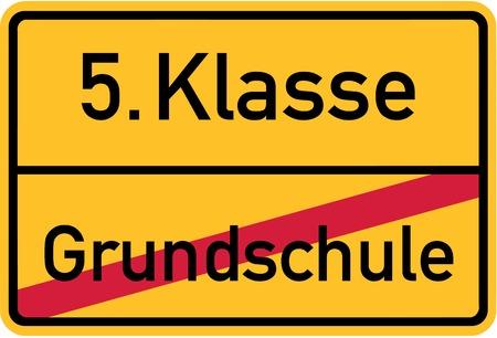 Bye Grundschule Standard-Bild - 67504271