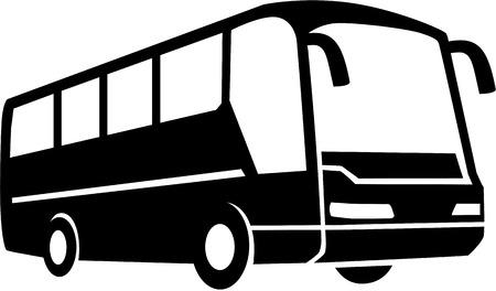 Tour Bus silhouette Zdjęcie Seryjne - 67504215