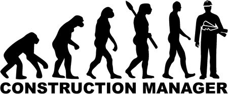 manager: Evolution construction manager Illustration