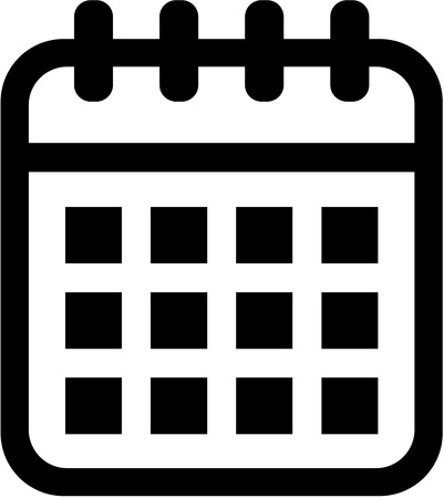 appointments: Calendar icon Illustration