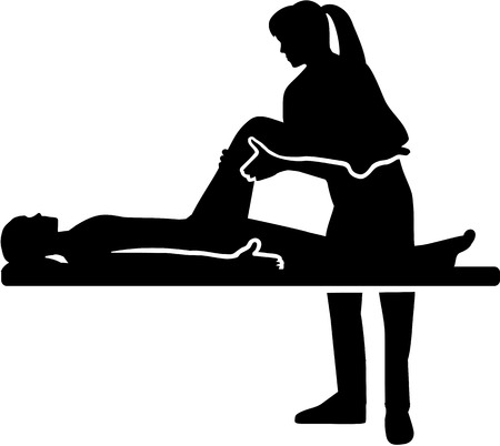 Female Physical therapist