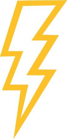 thunderbolt: Thunderbolt outline