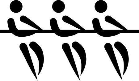 tug: Tug of war icon Illustration