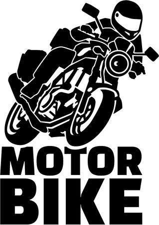 motobike: Motobike with biker