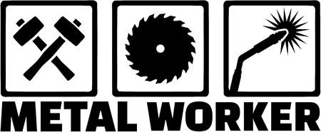 metal worker: Metal worker icons