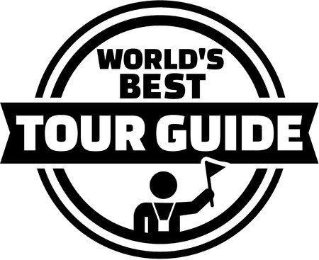 guia de turismo: El mejor botón del guía turístico del mundo