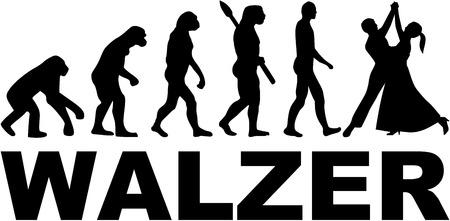 waltz: Waltz evolution. German.