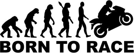 moto evolución. Nacido para correr.