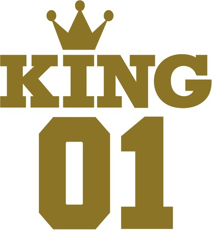 01: King 01 with crown