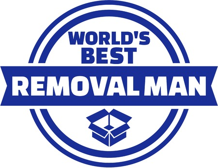 removal: Worlds best Removal man button